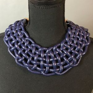 Jewelry - Woven Leather Necklace